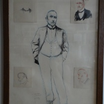 Portrait de Jules RENARD Gil-Blas mars 1895