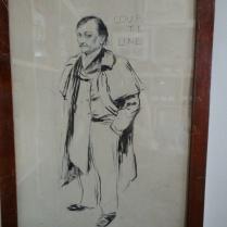Portrait de Georges COURTELINE Gil-Blas mars 1895