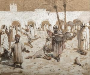 Chute de sauterelles 1891