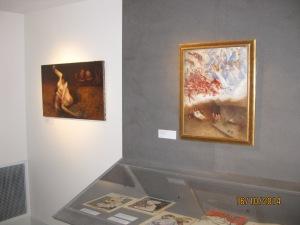 """2 tableaux de Jean VEBER dans l'exposition """"L'esprit de Montmartre et l'art moderne 1875-1910"""" au Musée de Montmartre du 17 octobre 2014 au 15 septembre 2015"""