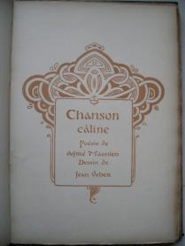 15 Chansons d'atelier 1901