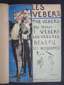 Les Veber's, couverture du recueil paru en 1895, sujet de la conférence de Paul Aron