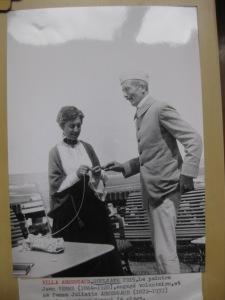 Jean Veber et sa femme pendant une permission en 1915