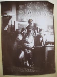 Jean VEBER en famille vers 1901