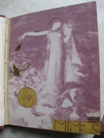 3 Mimes (en violet) 1894