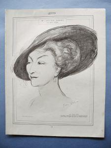 cecile sorel femina 1912