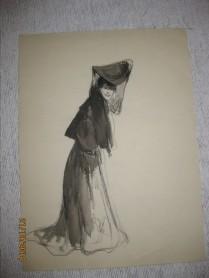 Femme en pied
