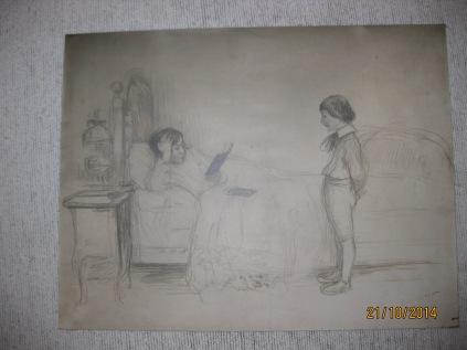 Etude pour le tableau La Leçon 1905