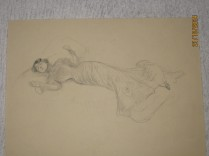 Juliette allongée