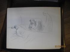 Etude pour la lithographie La piqûre 1913 01