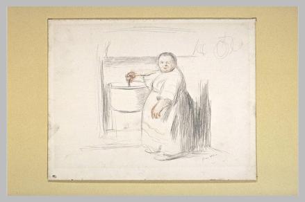 La cuisinière (Musée du Louvre)