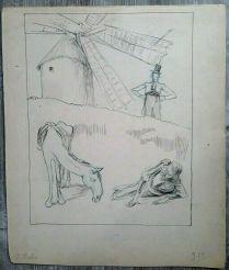 Don Quichotte vers 1896