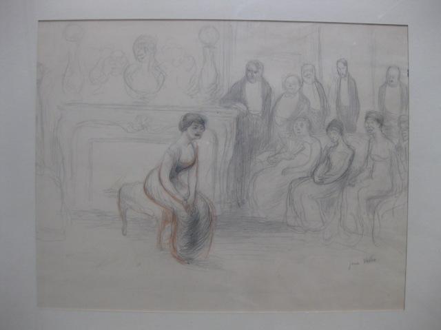 Dessin préparatoire  1906