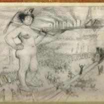 Croquis critique 1 ZOLA Le Rire 1896