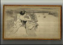 Croquis critique 3 BOURGET Le Rire 1896