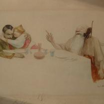 """L'lillustration n°2965 noël 1899 (conte de Félix DUQUESNEL, """"L'aventure singulière du beau Noureddin"""" )"""