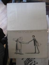 17 Menu illustré des anciens élèves des beaux-arts 1909