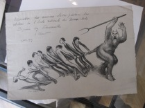 18 Menu illustré des anciens élèves des beaux-arts 1909