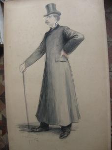 Portrait de Georges CLINCHANT 1899