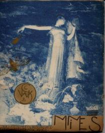 3 Mimes (en bleu) 1894