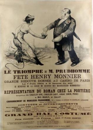 2 Le triomphe de M.Prudhomme 1904 130 x 92 cm
