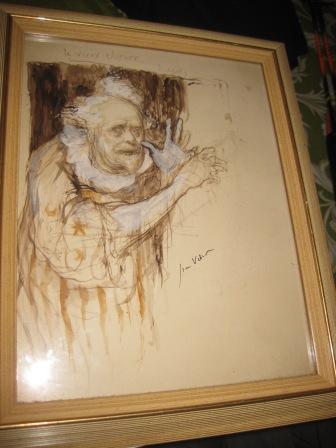 Le vieux clown (Rochefort)