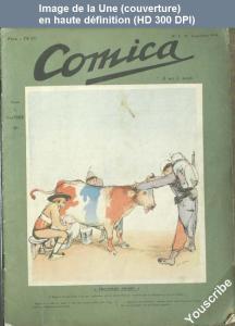 veber couv comica no 1 1er sep 1908