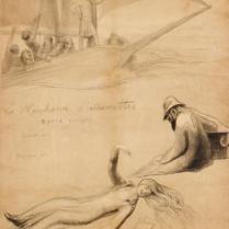 Projet d'affiche pour la pièce de Maurice ROSTAND 1914