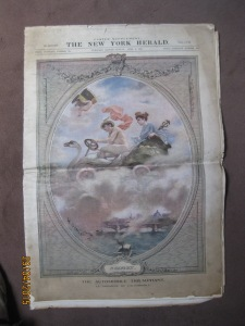 New-York Herald Paris Easter Supplément 8 avril 1906