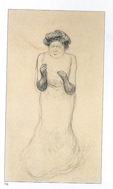 Yvette GUILBERT vers 1910